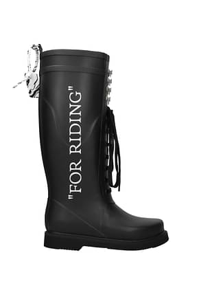 Stiefel Off-White for riding Damen