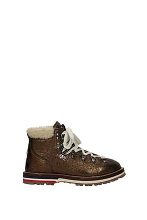 Botines Moncler blanche Mujer