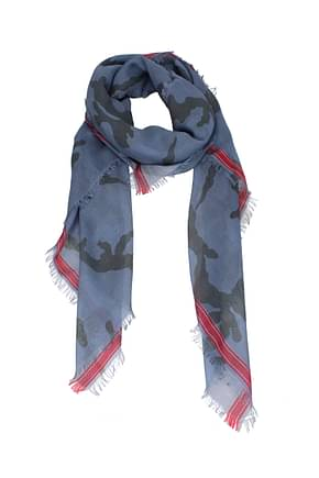 Valentino Scarves Men Wool Heavenly