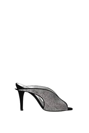 Givenchy Sandals lookbook  Women Suede Silver