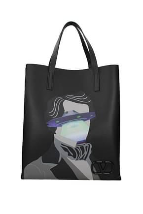 Valentino Garavani Handbags undercover Men Leather Black