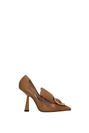 Jimmy Choo Pumps lyz Women Leather Brown