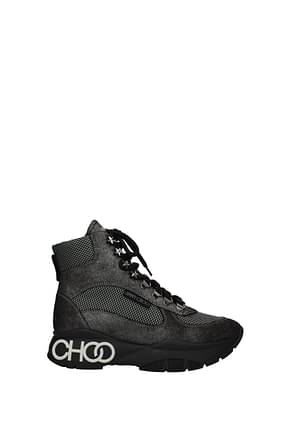 Jimmy Choo Ankle boots inca Women Suede Gray
