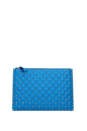 Clutches Valentino Garavani neon spike Women