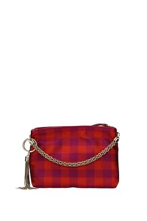 Jimmy Choo Pochette callie Donna Tessuto Multicolor