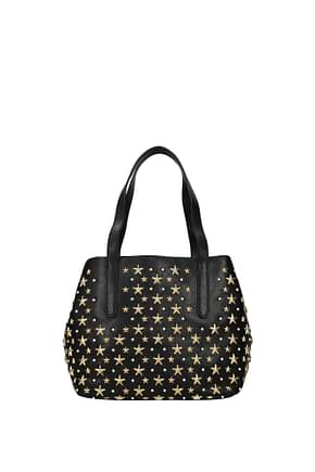 Jimmy Choo Handbags sofia Women Leather Black