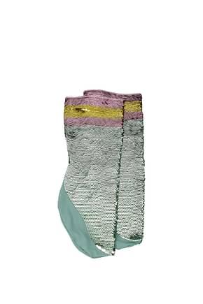 Gucci Calcetines cortos Mujer Poliamida Verde