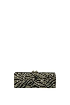 Jimmy Choo Clutches Women Glitter Gold