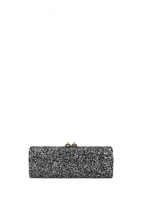 Jimmy Choo Clutches Women Glitter Black