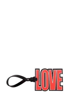 Givenchy Key rings love Women Leather Red