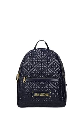 Love Moschino Backpacks and bumbags Women Polyurethane Blue