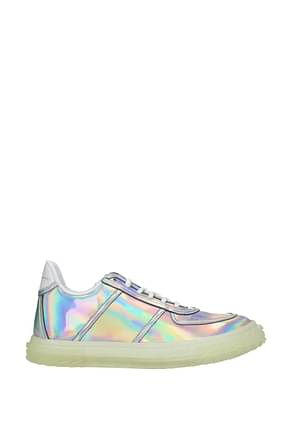 Giuseppe Zanotti Sneakers Men Patent Leather Multicolor
