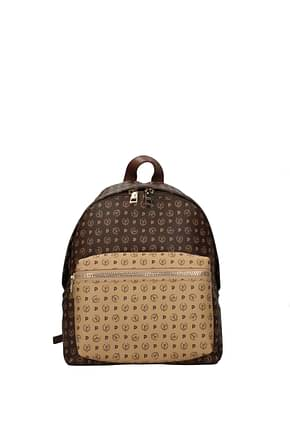 Pollini Backpacks and bumbags Women PVC Brown Cookie