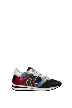 Philippe Model Sneakers trpx Donna Pelle Multicolor Gelso