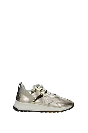 Philippe Model Sneakers royale Mujer Piel Oro