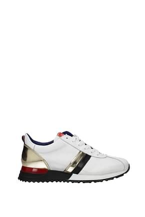 Testoni Sneakers i29 Men Leather White