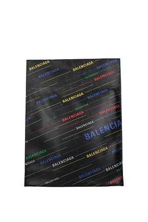 Balenciaga Handbags Men Leather Black Multicolor