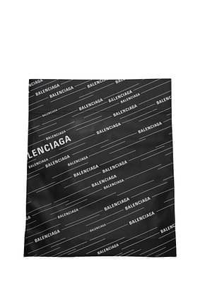 Balenciaga Handbags Men Leather Black White