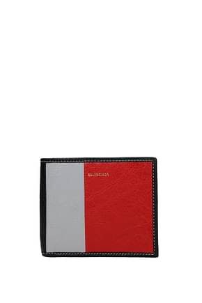 Balenciaga Wallets Men Leather Multicolor