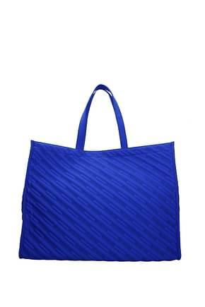 Balenciaga Bolsos de hombro Hombre Tejido Azul marino