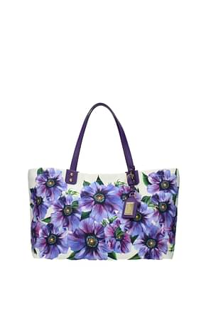 Dolce&Gabbana Shoulder bags beatrice Women Fabric  Violet