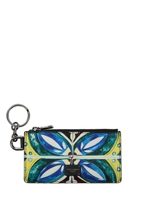 Dolce&Gabbana Document holders Men Leather Multicolor