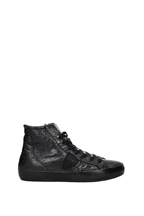 Philippe Model Sneakers paris Women Leather Black