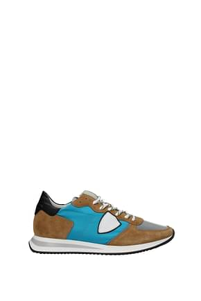 Philippe Model Sneakers trpx Men Fabric  Heavenly Camel