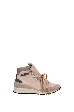 Philippe Model Sneakers tkk Women Patent Leather Pink