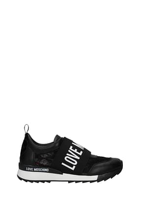 Love Moschino Sneakers Women Lace Black