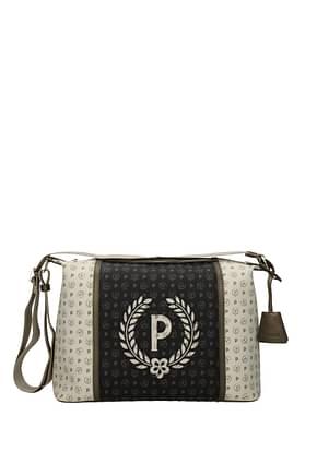 Pollini Crossbody Bag Women PVC Beige Bronze