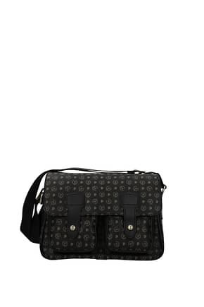 Pollini Crossbody Bag Women PVC Black Black