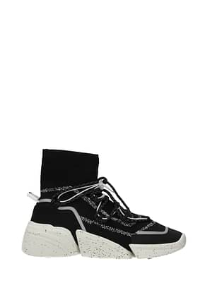 Kenzo Ankle boots Women Fabric  Black
