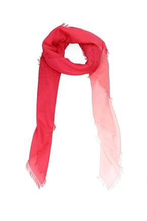 Fendi Foulard Women Cotton Red