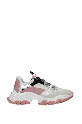 Moncler Sneakers leave no trace Women Suede Pink