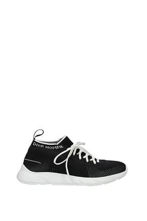Christian Dior Sneakers Men Fabric  Black Black