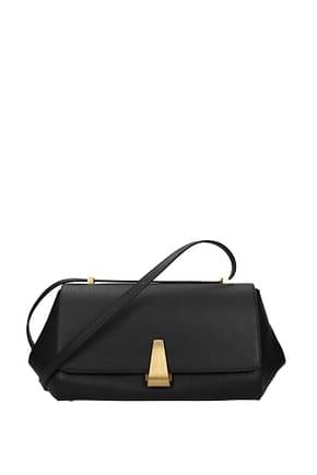 Bottega Veneta Shoulder bags Women Leather Black