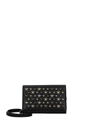 Jimmy Choo Crossbody Bag elise Women Leather Black