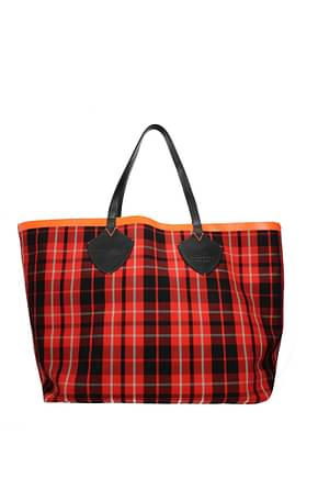 Burberry Shoulder bags Women Fabric  Red Multicolor