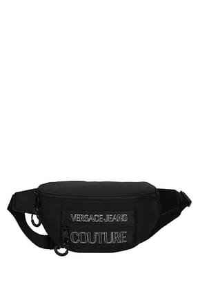Versace Jeans Backpack and bumbags couture Men Fabric  Black