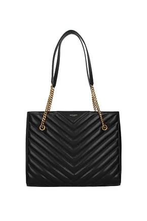 Saint Laurent Shoulder bags Women Leather Black