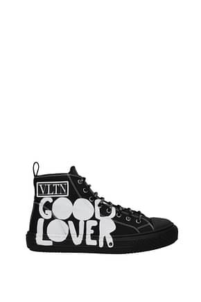Valentino Garavani Sneakers Homme Tissu Noir