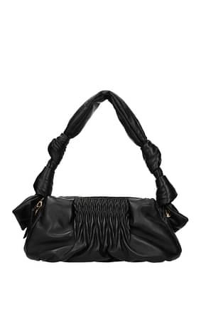 Miu Miu Shoulder bags Women Leather Black