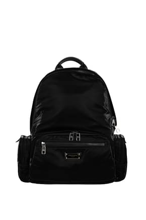 Dolce&Gabbana Backpack and bumbags Men Nylon Black