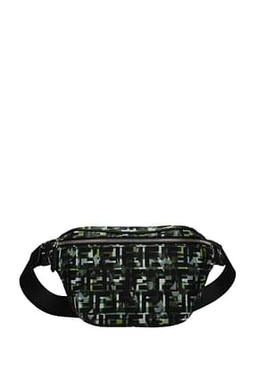 Fendi Backpack and bumbags Men Fabric  Multicolor