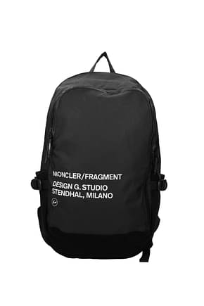 Moncler Backpack and bumbags Men Fabric  Black