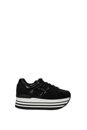 Hogan Sneakers Women Glitter Black