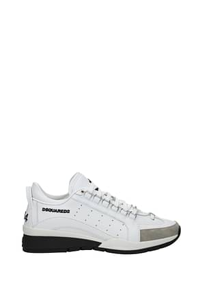 Dsquared2 Sneakers 551 Men Leather White