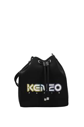 Kenzo Shoulder bags Women Fabric  Black