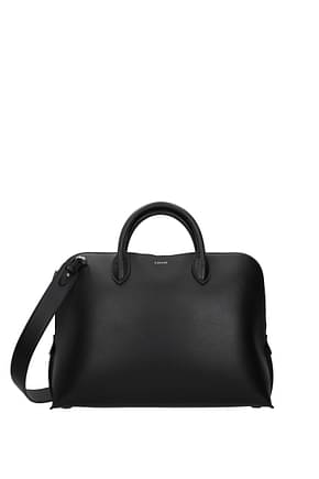Lanvin Work bags Men Leather Black